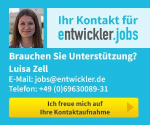 Entwickler.Jobs Kontakt